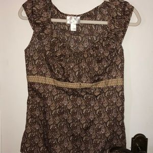 Ann Taylor Loft sleeveless size 2 top